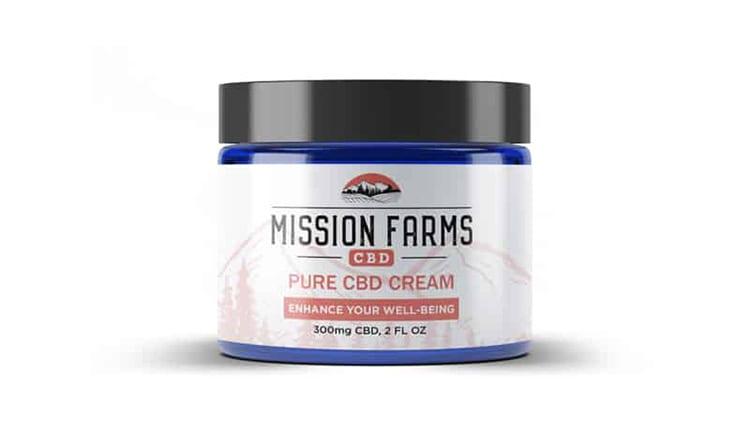 Mission Farms CBD 15% Off CBD Cream Coupon