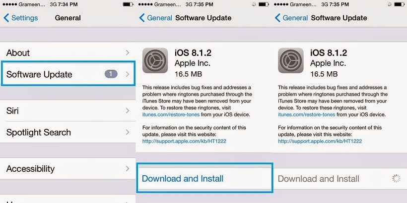 How to Update iPhone to iOS 8.1.1