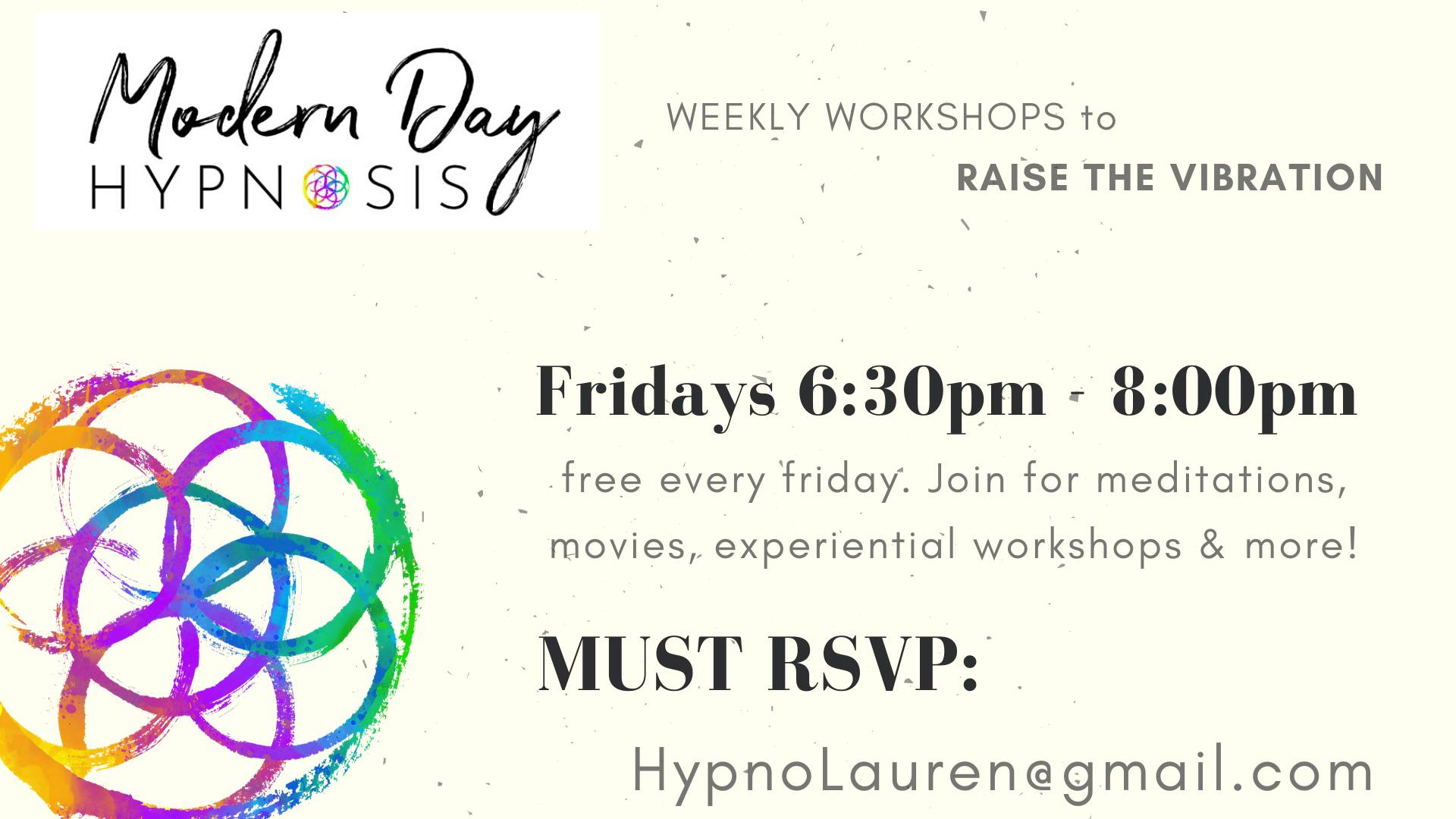 Modern Day Hypnosis Workshop