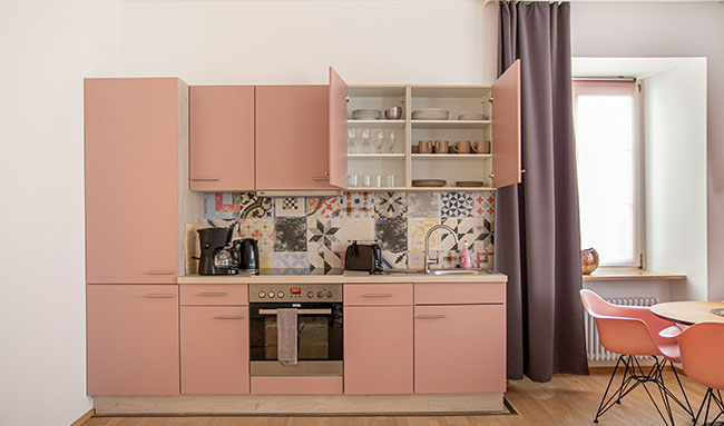 Apartment Stockach A6 Küche