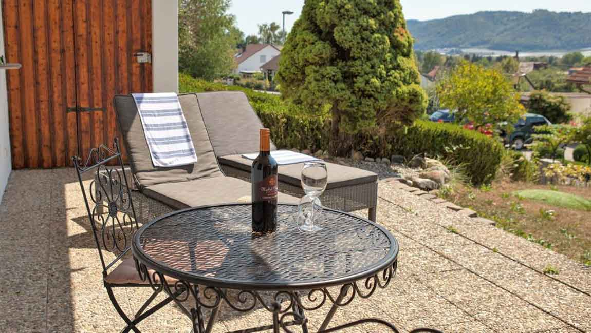 Apartment Stockach A26 Terrasse