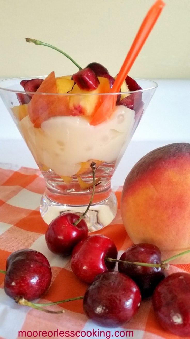 Peachy Keen Tapioca Pudding