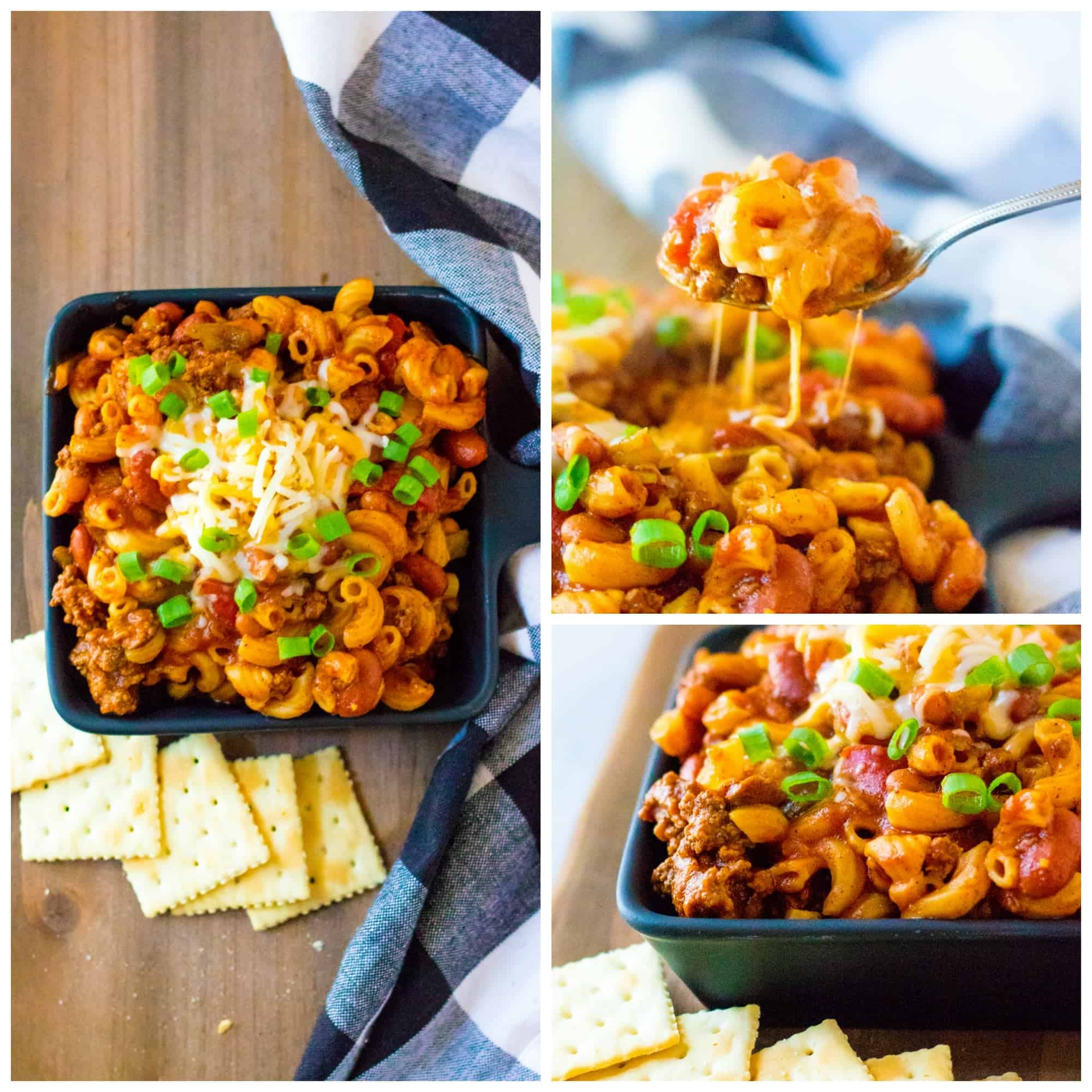 For a simple take on a hearty classic dish, follow this Slow Cooker Classic Goulash recipe. It combines the flavor of beans, onions, peppers, and ground beef to create a flavorful meal to eat for lunch or dinner. via @Mooreorlesscook