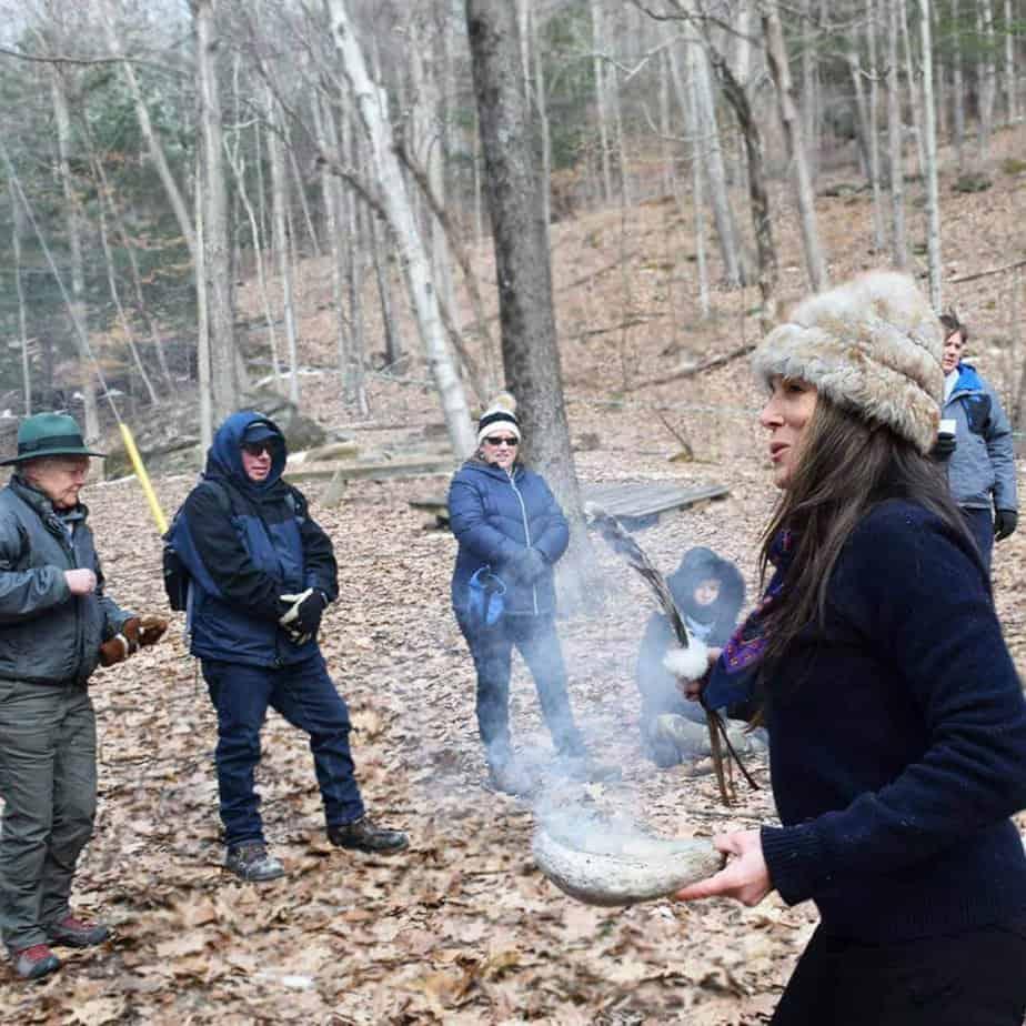 Awaken the senses mountainside addiction treatment center camping trip