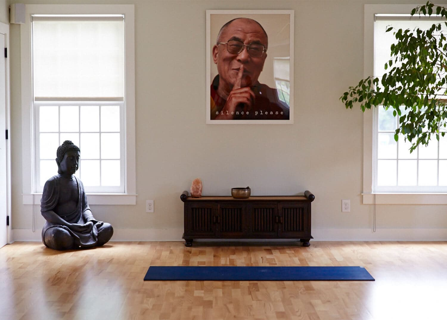 Meditation room at Mountainside Treatment Center's main campus in Canaan, CT.