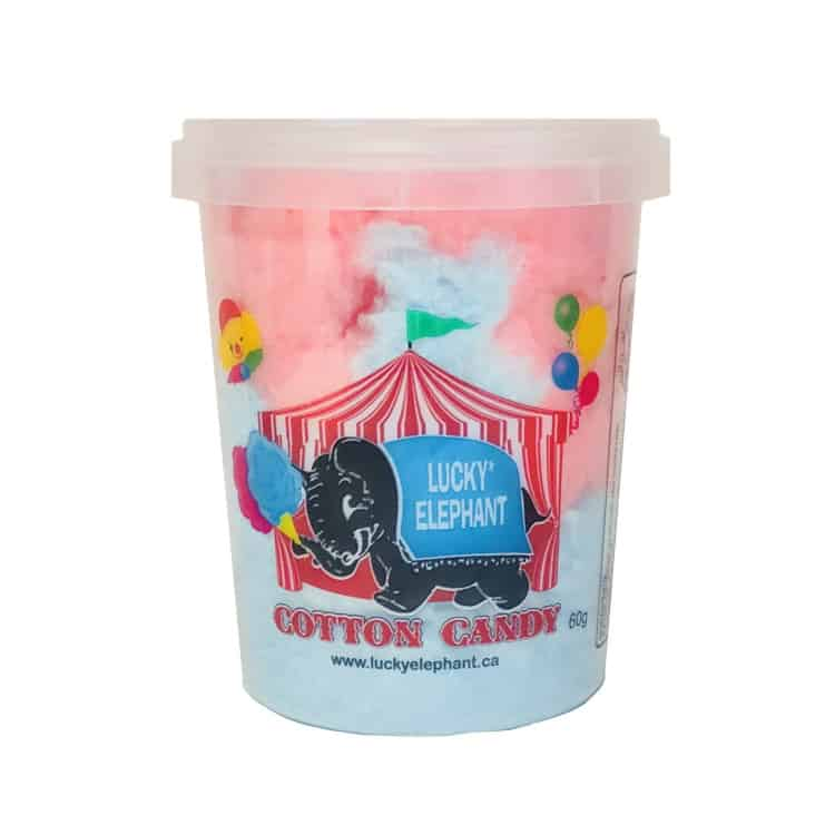 Pre Packaged Cotton Candy