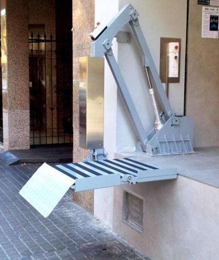 Plataforma elevadora EVP-SPIN