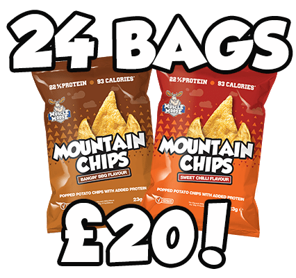 Mountain Chips 24 Bags for £20