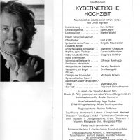 1982 Programm Kybernetische Hochzeit