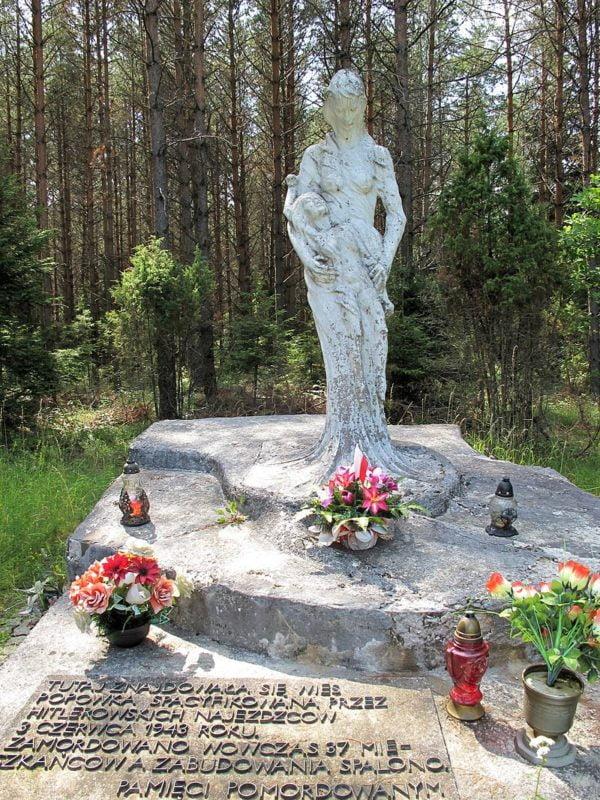 Niemcy dokonali pacyfikacji wsi Popówka