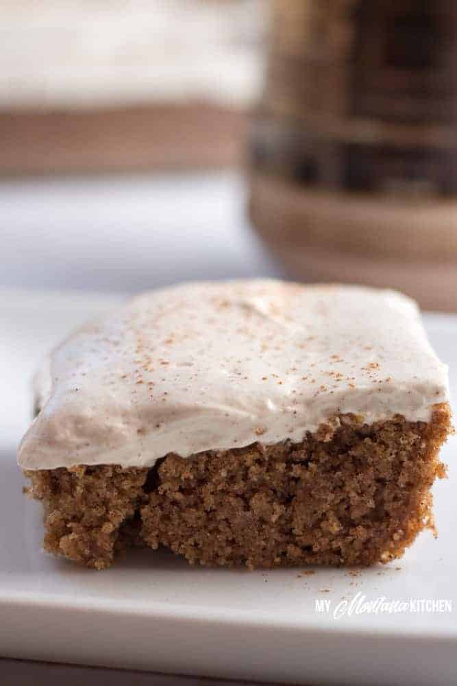 Cinnamon Spice Cake with Cream Cheese Frosting