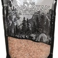 The Spice Lab Pink Himalayan Salt Coarse - 2.2 Lb / 1 Kilo Pure Gourmet Crystals - PACKED IN USA Nutrient and Mineral Dense - Kosher and Natural Certified