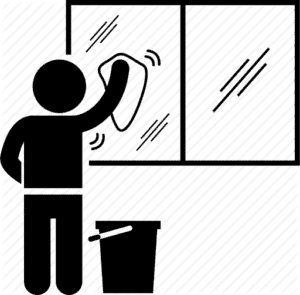 Windows Cleaning Icon