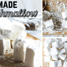Simple Homemade Marshmallow Recipe