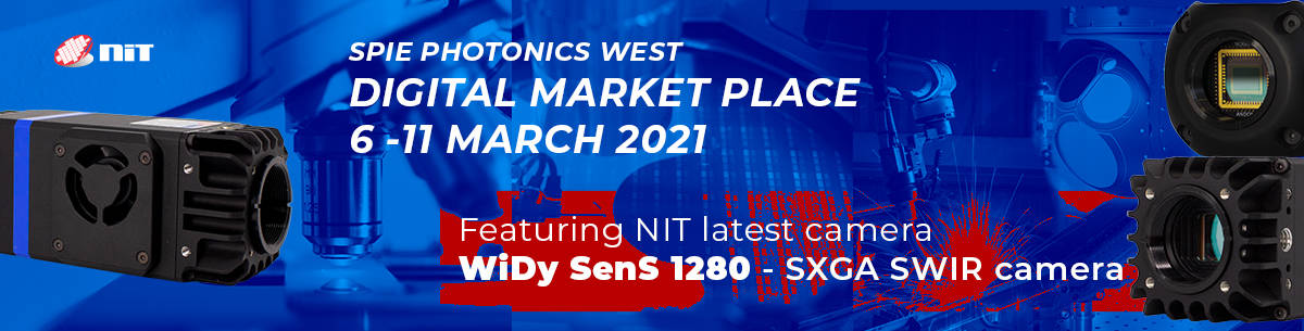 NIT introduces WiDySenS 1280 at Photonics West 2021