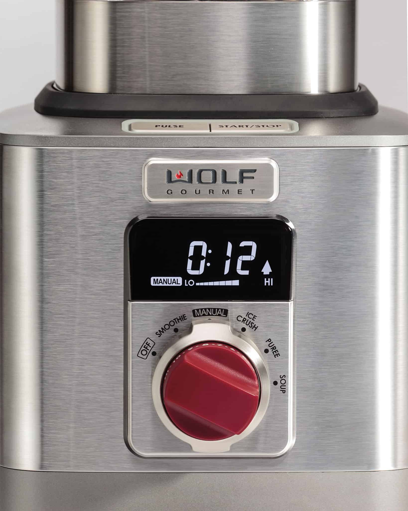 image of Wolf Gourmet High Performance Blender LCD Display