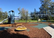 Bennett Park in Valentine: A Playground With Lake Views