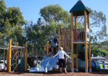 New Playground at Novocastrian Park in New Lambton