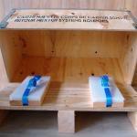 NO-NAIL BOXES: calage avec sangles