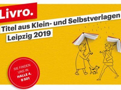 Willkommen zu Livro @ Leipziger Buchmesse 2019