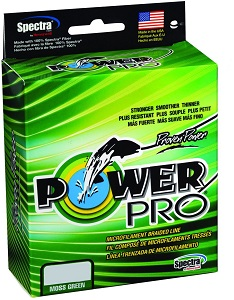3. Power Pro Spectra Fiber Braided Fishing Line.