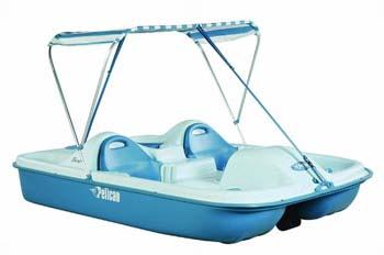 6. Pelican Boats Flash 5-Passenger Pedal Boat
