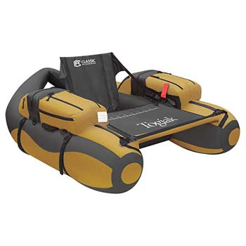 8. Classic Accessories Togiak Inflatable Fishing Float Tube