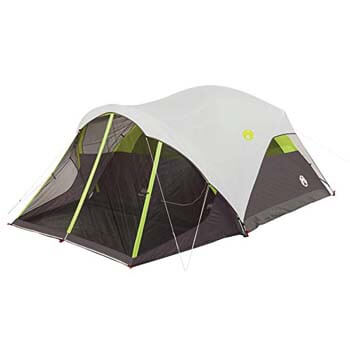 3: Coleman 2000018059 Tent 6P Dome Steel Creek