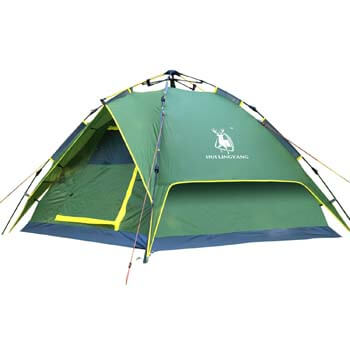 9: HuiLingYang Outdoor Instant 4-Person Pop up Dome Tent