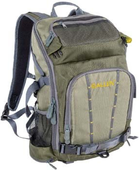 6. Allen Gunnison Switch Pack, Convertible Day Pack to Fishing Sling Pack, Olive/Gray