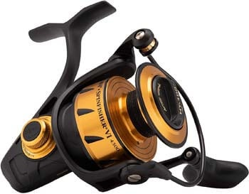 5. Penn 1481260 Spinfisher VI Spinning Saltwater Reel, 2500 Reel Size, 6.2. 1 Gear Ratio