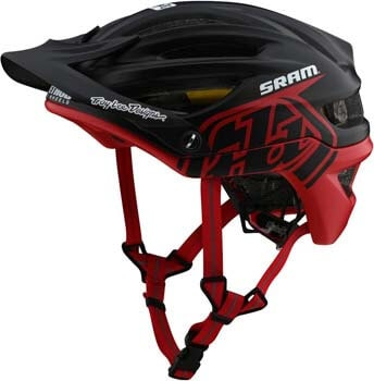 2. Troy Lee Designs Adult All Mountain XC Mountain Bike A2 Jet Helmet