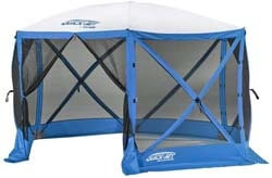 7. Quick Set 14201 Escape Sport Pop Up Camping Canopy Gazebo Tailgate Tent, Blue