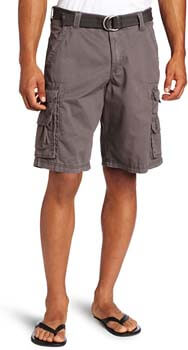7. LEE Men's Big & Tall Dungarees Belted Wyoming Cargo Short