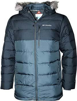 6. Columbia Men's Northridge Lodge 700 Fill Down Hooded Omni Heat Winter Puffer Jacket