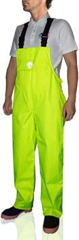 2. Bib Pants Overall Waterproof for Men Women Rain Trousers with Pockets