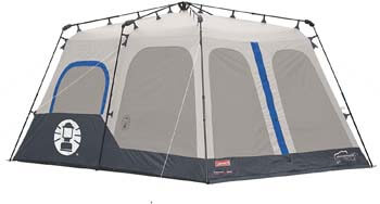 2. Coleman 8-Person Tent | Instant Family Tent