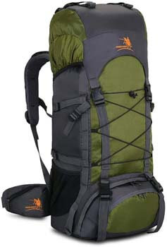6. Bseash 60L Internal Frame Hiking Backpack