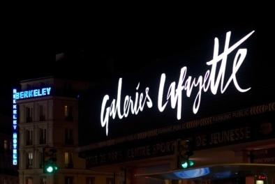 Galeries Lafayette Montparnasse - Oliver Lins, Quest - Im Wandel der Zeit
