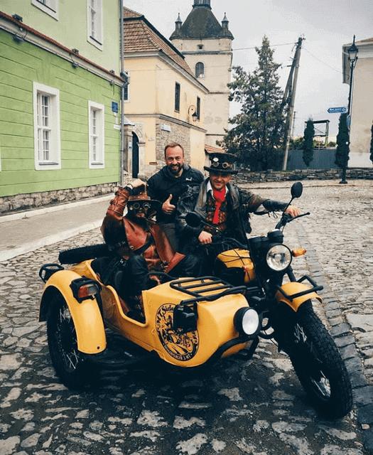 Мото-прогулянка по Кам'янець-Подільському