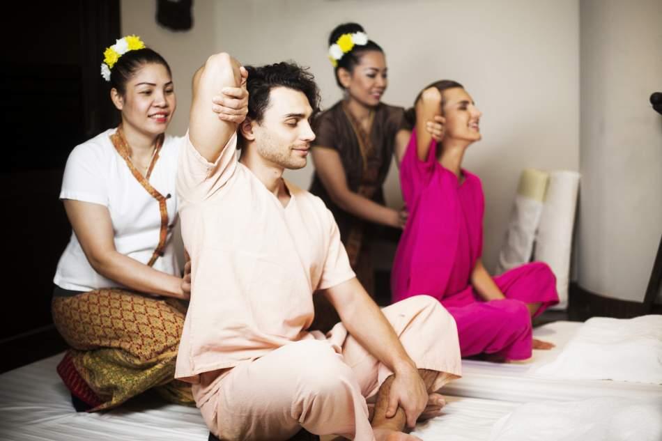 Тайский традиционный массаж для двоих