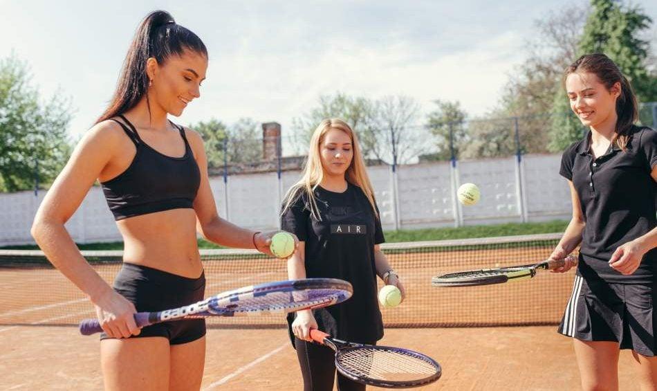 Мастер-класс игры в большой теннис
