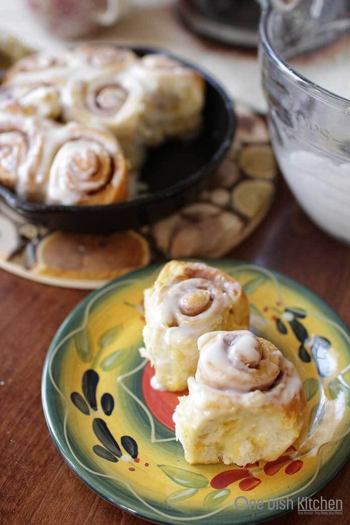 How To Make Cinnamon Rolls for One! | One Dish Kitchen
