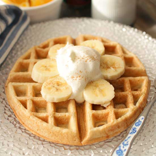 Waffle Recipe For One | One Dish Kitchen
