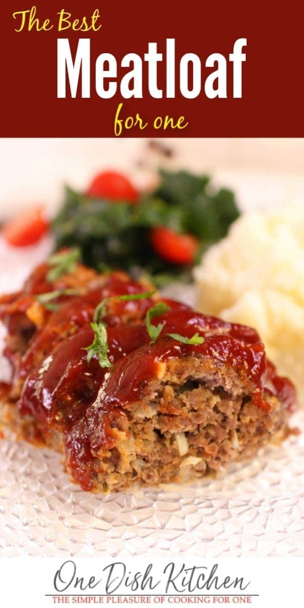 meatloaf for one person