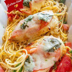 Gluten-Free Baked Chicken Parmesan