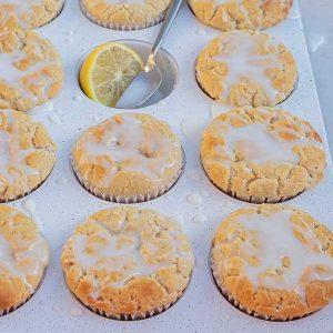 Gluten-Free Lemon Ricotta Muffins