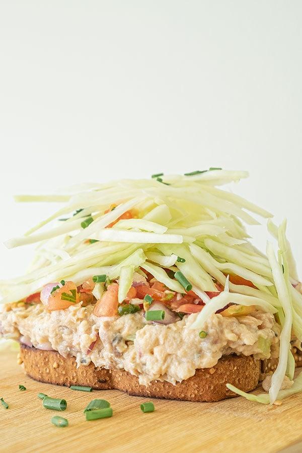 Super Easy Salmon Salad