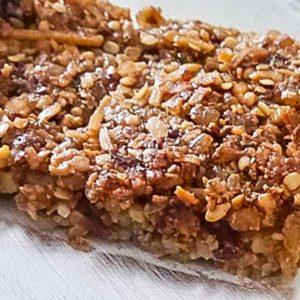 Walnut And Fig Healthy Energy Bar