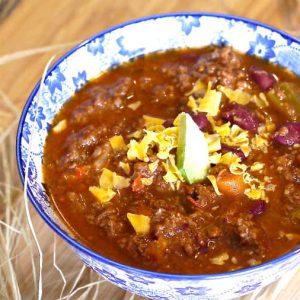 Gluten Free Classic Chili Recipe